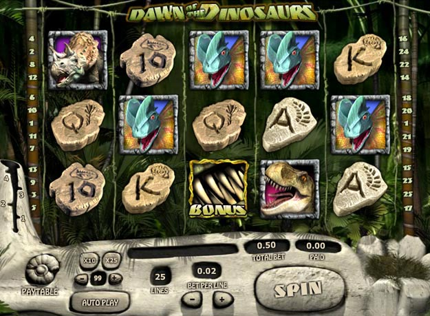 Dawn of The Dinosaurs Slots