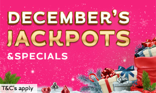 December Jackpots & Specials