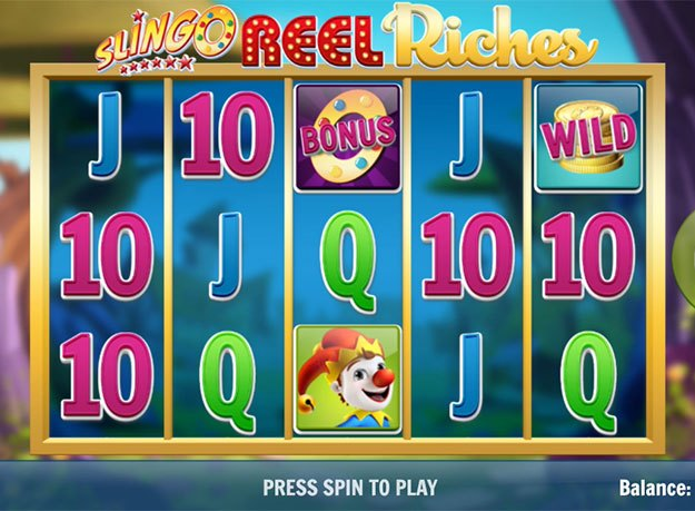 Slingo Reel Riches Slot