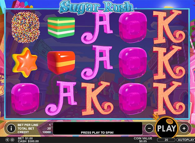 Sugar Rush Slot