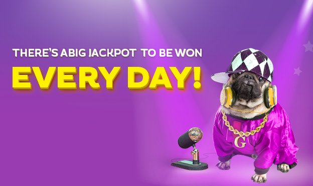 WIN A JACKPOT EVERYDAY