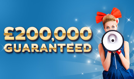 Gossip's £200,000 guaranteed Jackpot