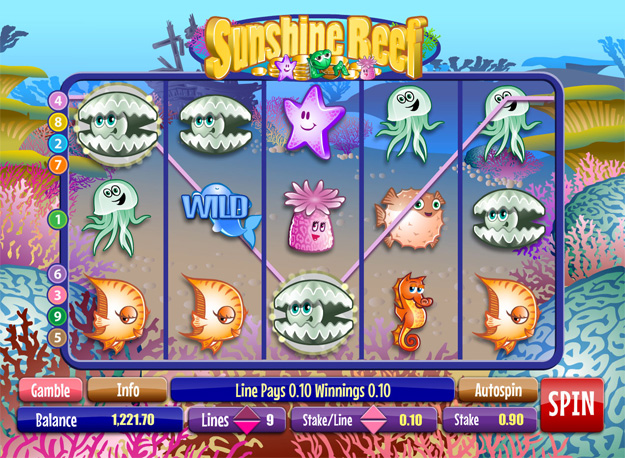 Sunshine Reef Slots