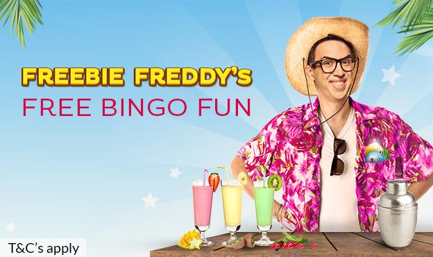 Freebie Freddy's Free Bingo