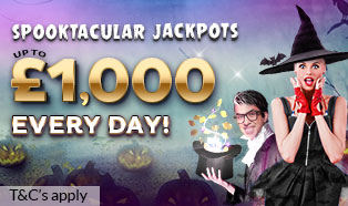 Spooktacular jackpots